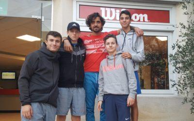 Nos garçons 15-18 ans: champion des Hauts de Seine 2ème division