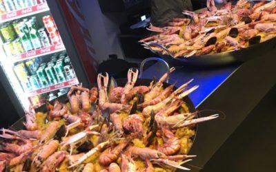 Nova Klub: une belle ambiance à la soirée paella/barbecue