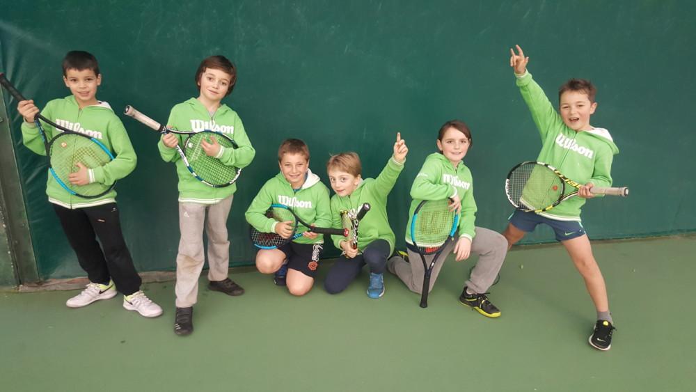 Stages tennis jeunes pendant les vacances d'hiver