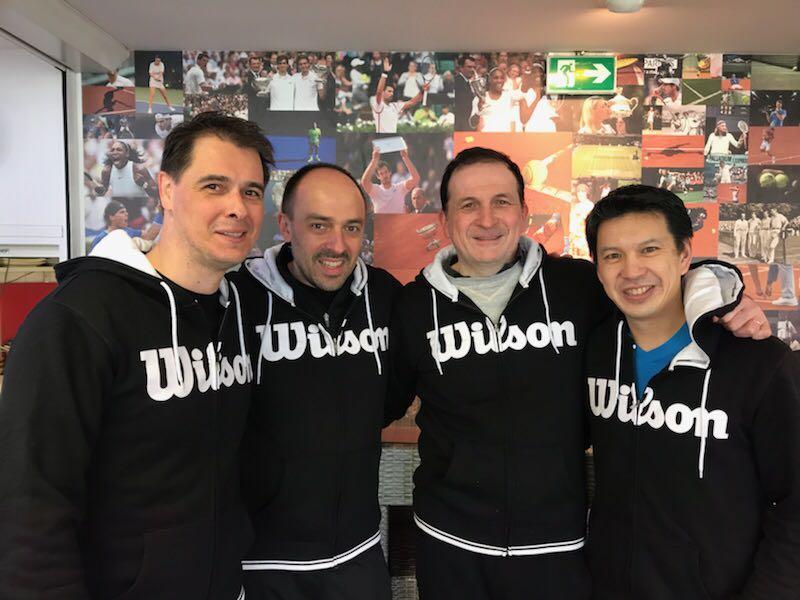 Notre équipe +45 ans messieurs en finale du championnat des Hauts de Seine 2ème division