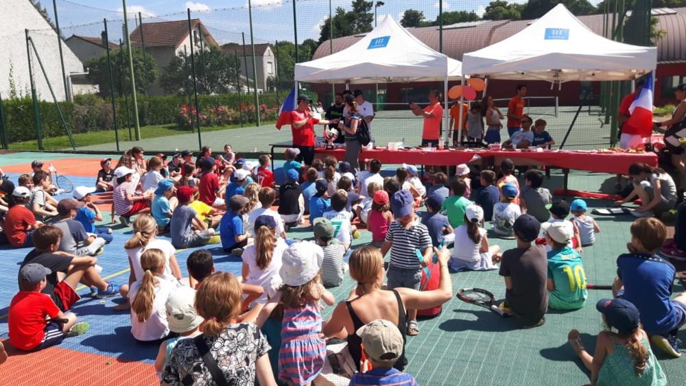 fête de l'école de tennis juin 2018